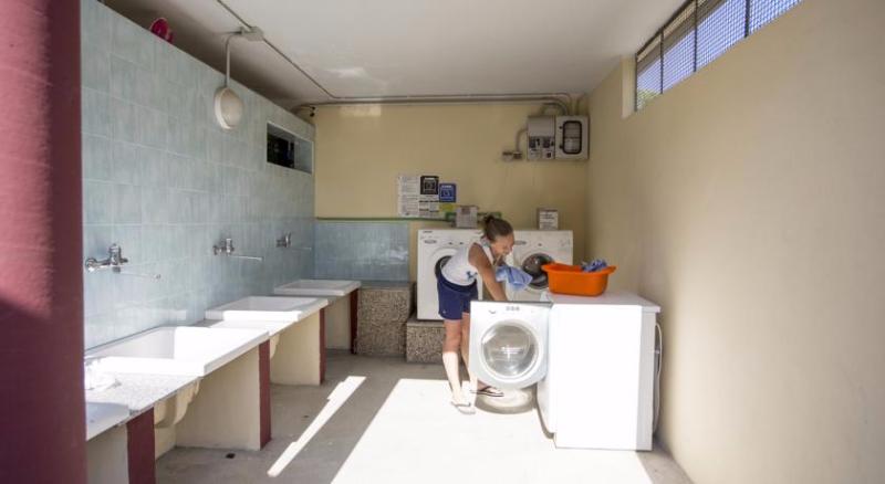 Area lavatrici Villaggio Lake Placid di Silvi Marina