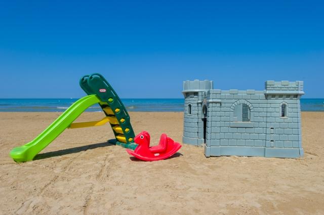 Rodi Gargano - Hotel Rivablu - Giochi Spiaggia