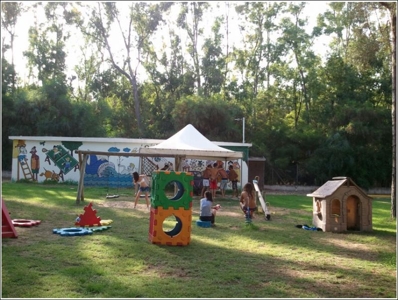 Oristano - Camping Village Spinnaker -Area gioco bimbi