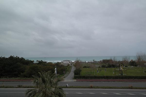 Scalea - Hotel Felix -Strada per mare