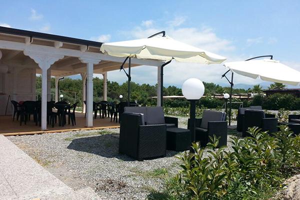 Scalea - Hotel Felix - Giradino