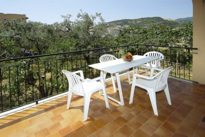 Pietra Ligure -Residence Appartamenti Mizar - Terrazzo