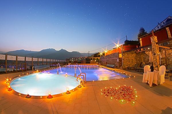 Tovo San Giacomo -Il Casale Resort - Piscina di sera