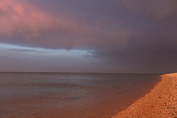 Spiaggia di sera