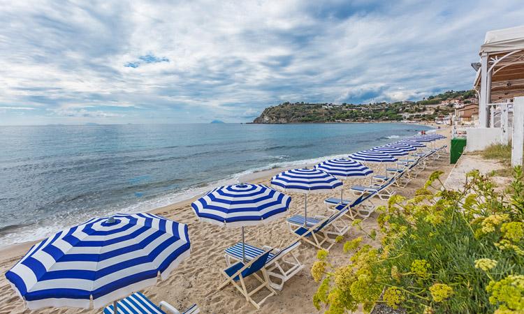 Ricadi - Hotel Ipomea Club -Spiaggia privata