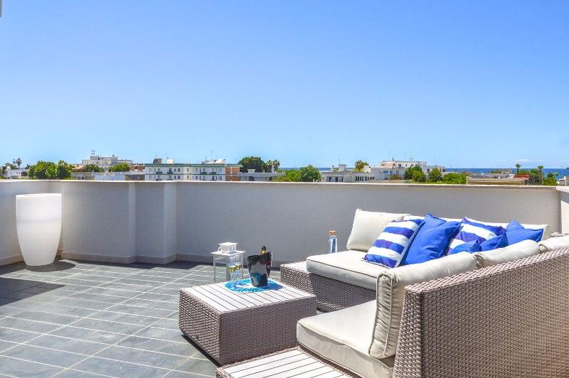 Gallipoli - Casa Vacanza Salento Mare Blu- Casa con terrazza vista mare
