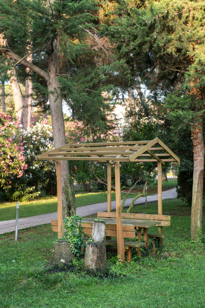 Marina di Bibbona - Park Hotel Marinetta - Interno Giardino