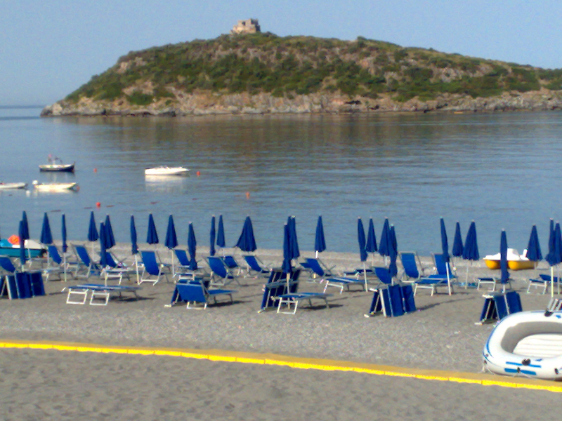 Diamante - Villaggio Turistico Mare Blu - Spiaggia privata