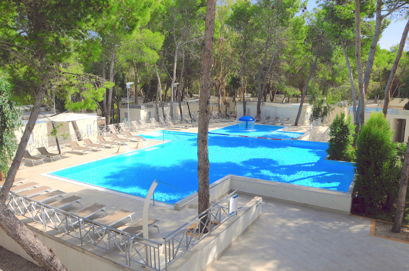 Piscina benessere Sira Resort