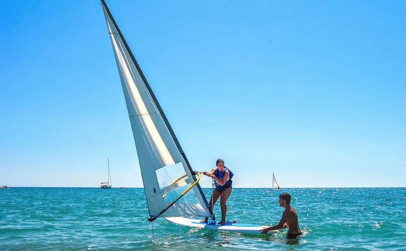 Corso di windsurf Castroboleto Village