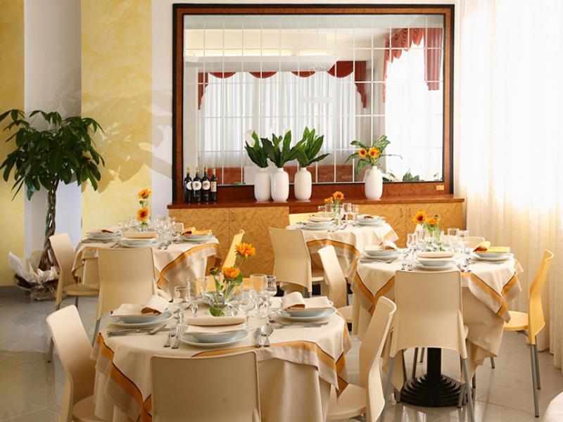 sala da pranzo  Hotel Miramare Inn