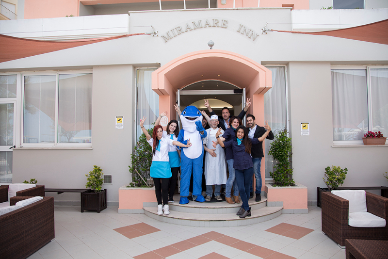 staff Hotel Miramare Inn nelle marche
