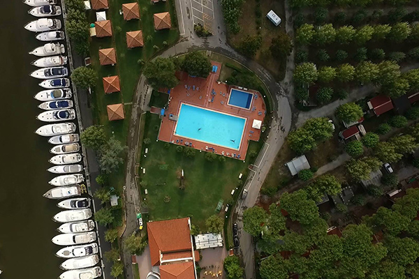 Sarzana - Parco Vacanze Marina 3B - Vista dall'alto