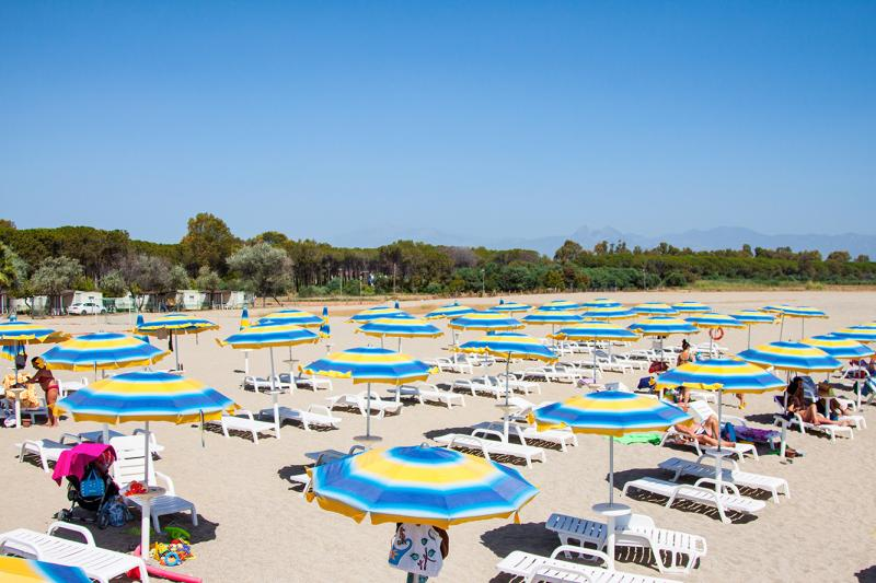 Camping Village Due Elle - Spiaggia privata