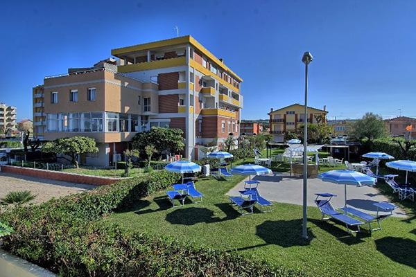 Esterno  Hotel Prestige di Fano