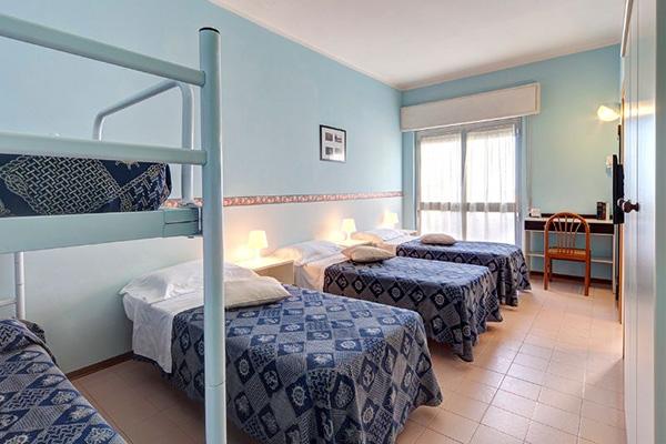 Camere da letto Hotel Prestige di Fano