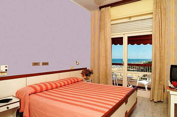 Camera Vista Mare Hotel Silvi - Beach Village