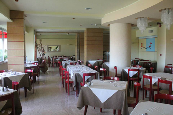 Sala ristorante Hotel Silvi - Beach Village