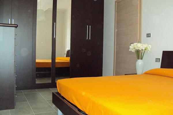 camera da letto del Residence Belvedere a Pineto