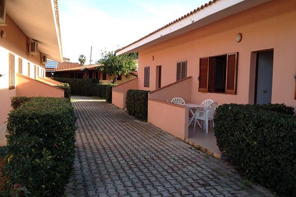 Marina di Zambrone -Villaggio Borgo Marino & Albatros - Viale interno