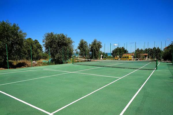 Hotel Residence Parco del Sole del Gargano- Campo da tennis