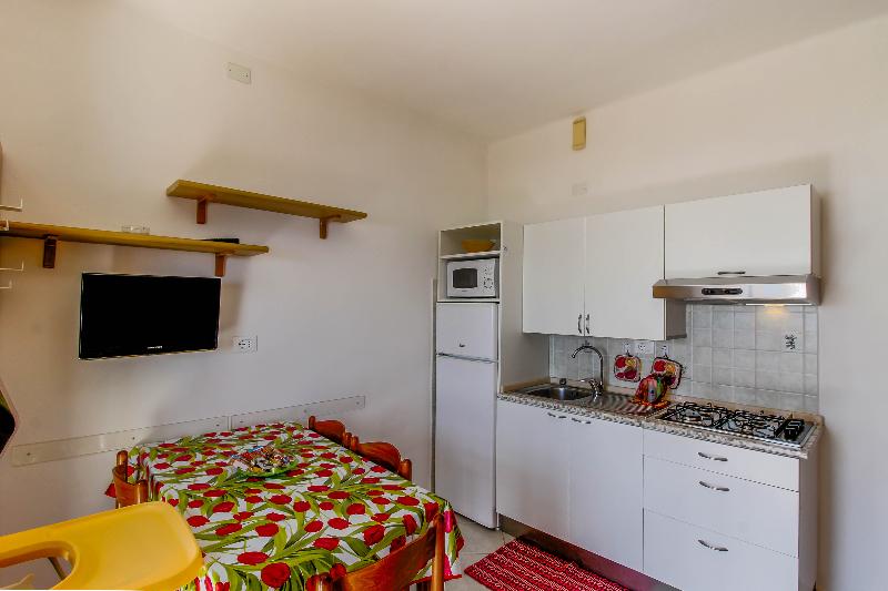 Cucina e soggiorno Bilocale