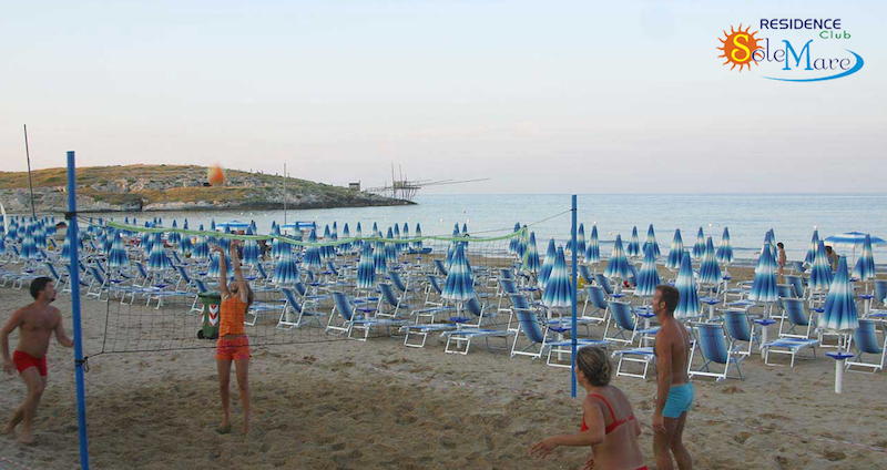 Vieste-Residence Club Sole Mare-Spiaggia