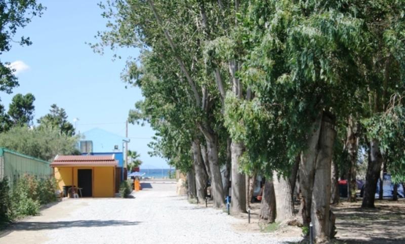 Salicamp Villaggio Vacanze- ingresso spiaggia