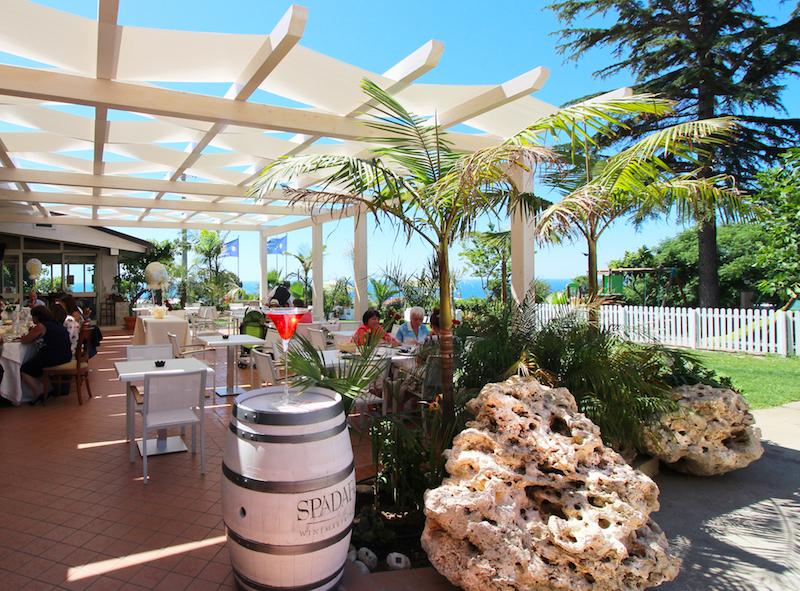 Tropea - Hotel La Bussola - Veranda