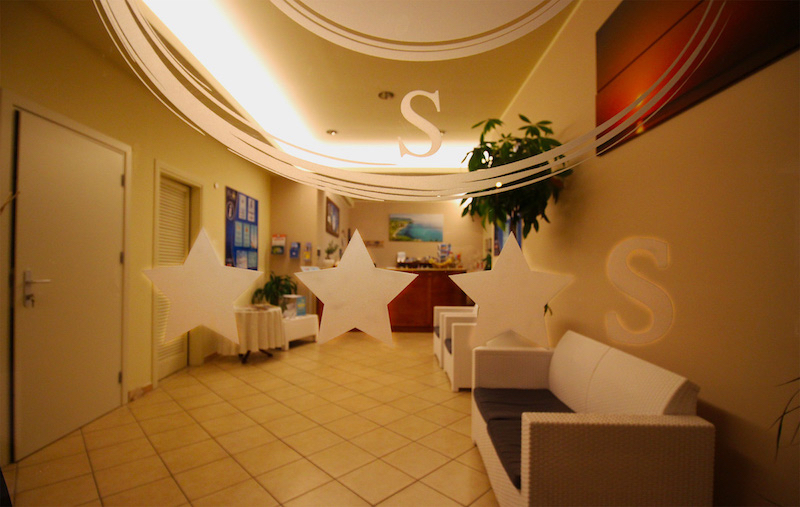 Tropea - Hotel La Bussola - Reception