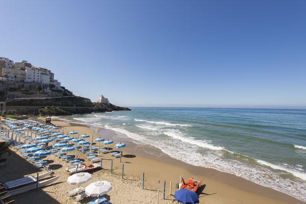 Spiaggia Albergo La Sirenella - Sperlonga