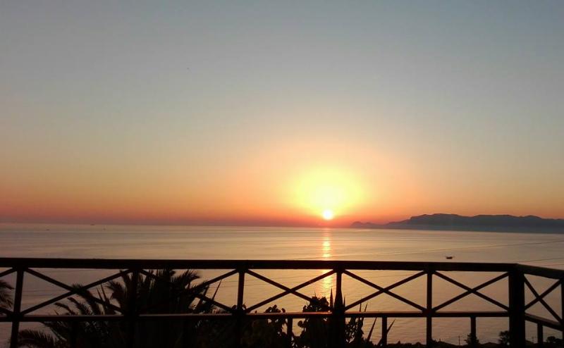 tramonto da Villa Sauci