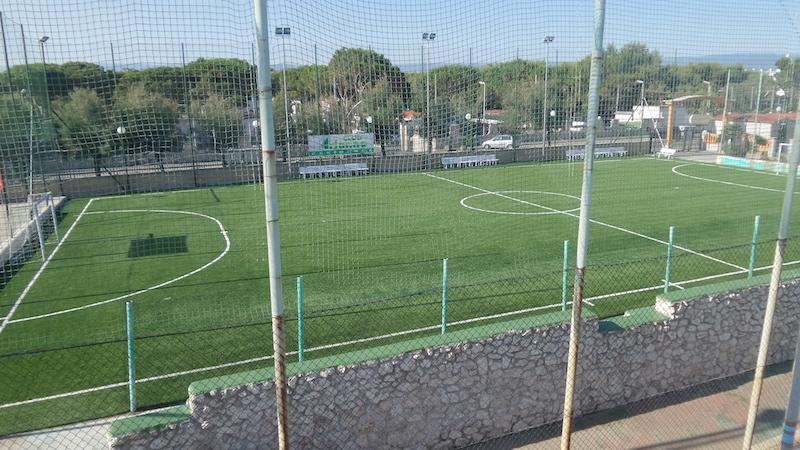 Appartamenti Zim a Rodi Garganico - Campo polivalente