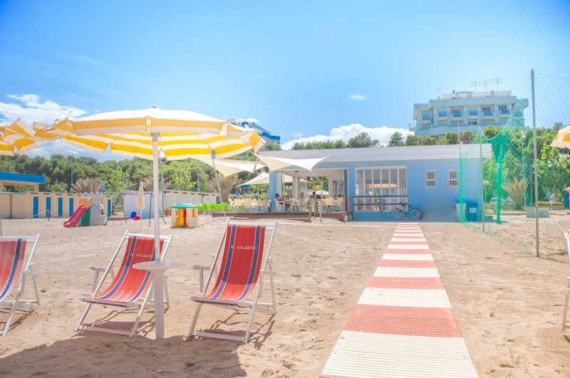 Hotel Atlantic - Spiaggia