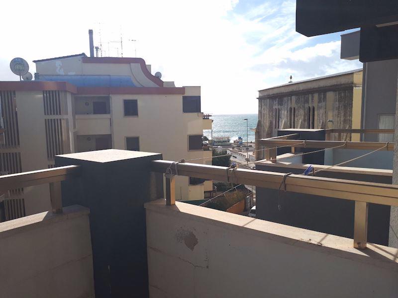 balcone vista mare appartamento 6 posti Salento Mare Blu