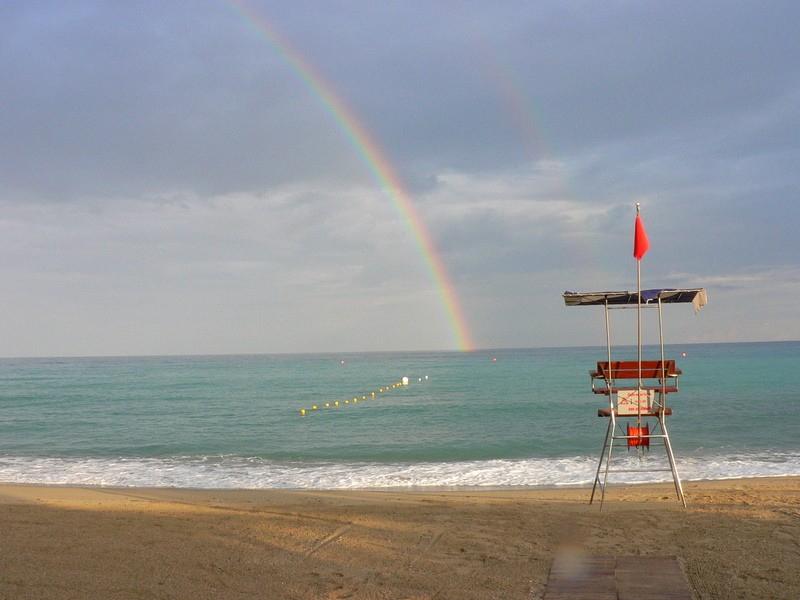 SPIAGGIA  arcobaleno