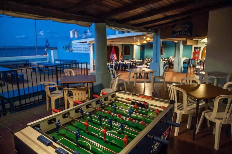 area giochi ristoro bar