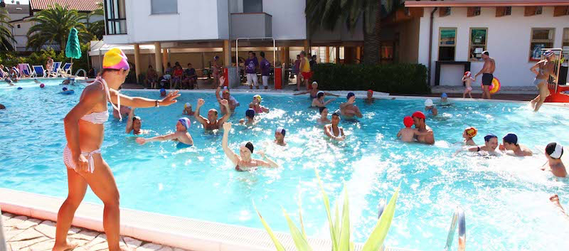 Hotel Acquario - Campomarino - Piscina