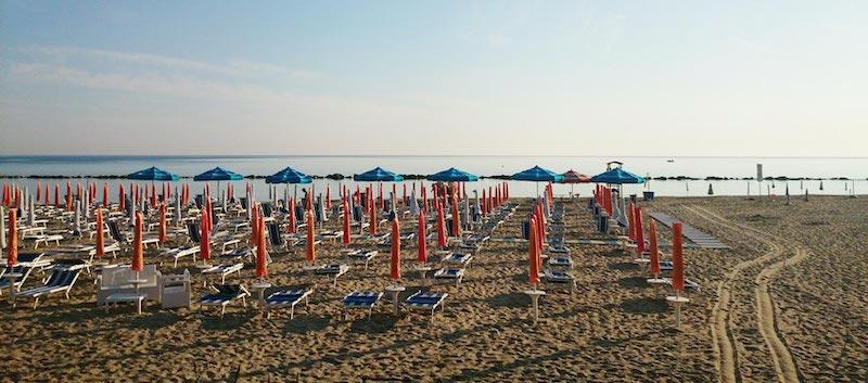 Hotel Acquario - Campomarino - Spiaggia