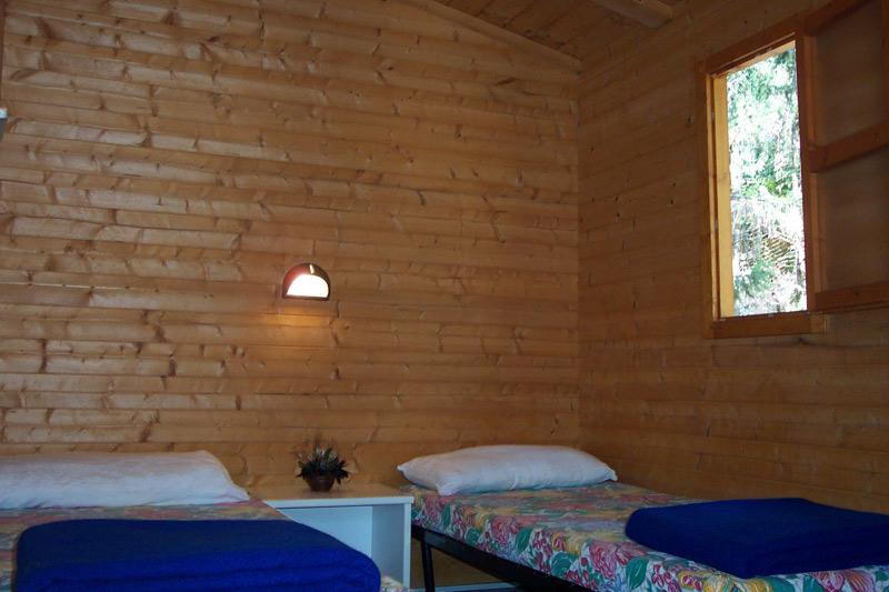 Camera bungalow in legno Villaggio delle Sirene