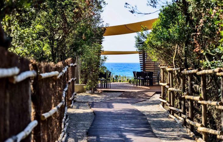 Accesso Spiaggia Privata