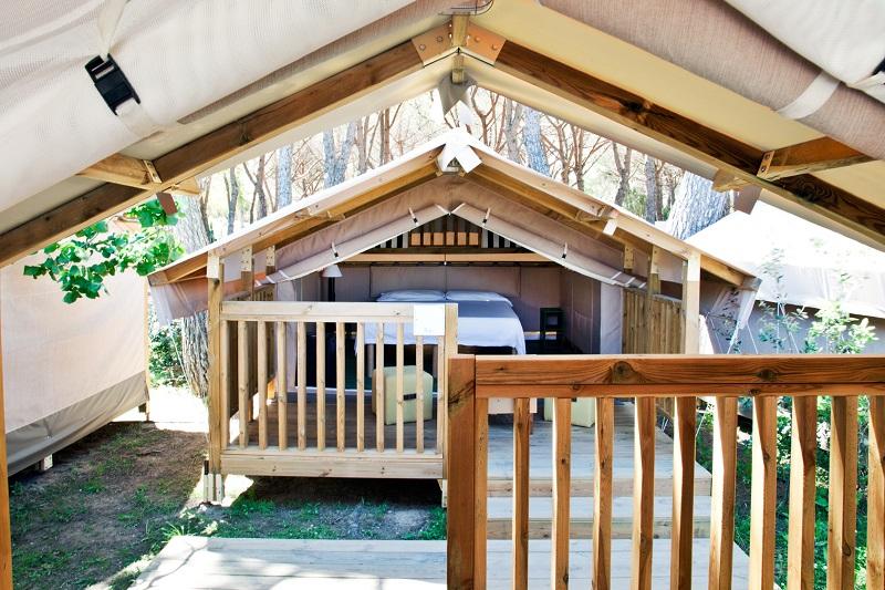 Double Mini Lodge Tent