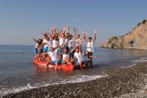 Palinuro -Arco Naturale Club Villaggio Camping - Animatori in spiaggia