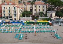 Alassio - Hotel Gandolfo - Spiaggia
