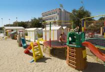 Giochi spiaggia Hotel Rex Senigallia