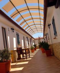 Lampedusa - Agriturismo Resort Costa House - ingresso camere