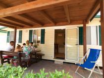 Ingresso Chalet Villaggio Camping Verde Luna
