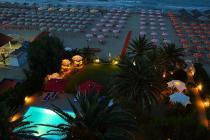 Spiaggia di sera Hotel Silvi - Beach Village
