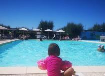 Piscina per bambini con giochi d'acqua & Vasca idromassaggio