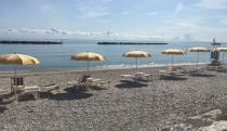 Spiaggia mista